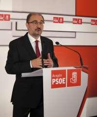 Lambán (PSOE) afirma que Aragón