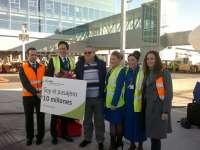 El aeropuerto de Alicante-Elche prevé cerrar el año con una cifra de unos 10.050.000 pasajeros