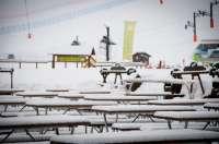 La estación de esquí de Cerler permanece cerrada por las fuertes rachas de viento