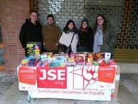JJSS recoge juguetes, libros y alimentos en Burgos, León, Valladolid, Palencia y Segovia