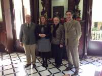 Serrano se reúne con el nuevo presidente de Feragua para establecer el calendario de trabajo de 2015