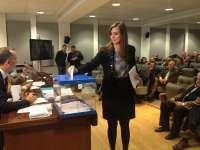 Ángela de Miguel, nueva presidenta de la CVE con 79 votos a favor y cinco en blanco