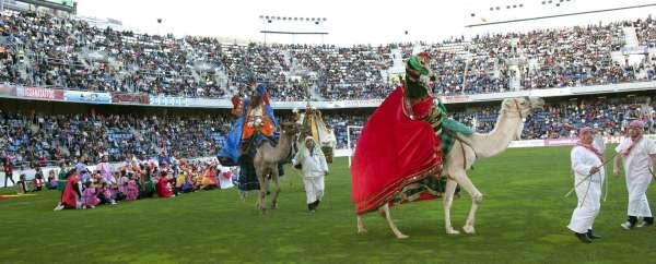 Las entradas para ver a los Reyes Magos en el Heliodoro Rodríguez López salen a la venta hoy martes