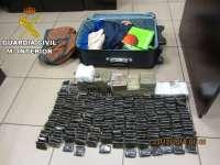 Detenido un pasajero en el Puerto de La Luz (Gran Canaria) con 21 kilogramos de hachís en una maleta de mano
