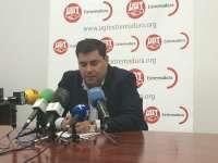 UGT considera que la gestión de Monago en 2014 se resume en