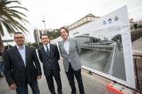 Paneles explicativos informarán sobre las obras del Puente del Cabo