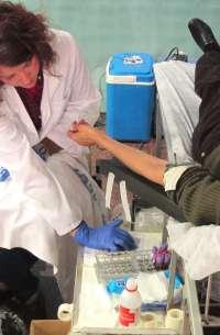 Los equipos del Banco de Sangre recorrerán más de 9.000 kilómetros en enero para recoger unos 2.000 litros de plasma