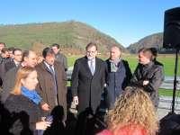 Javier Fernández dice que la finalización de la transcantábrica libera a Asturias de