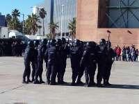 La Policía Nacional realiza una exhibición con sus unidades más características en ExpoJoven 2014