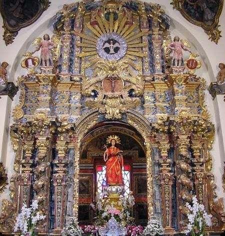 Subvención de 72.600 euros para restaurar el Retablo Mayor del Santuario de Santa Eulalia de Totana