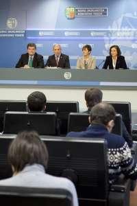 Gobierno vasco aprueba el Plan Universitario 2015-2018 con una financiación de 1.287,2 millones de euros