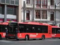 Bilbobus pone en marcha la nueva línea entre Uribarri y Altamira
