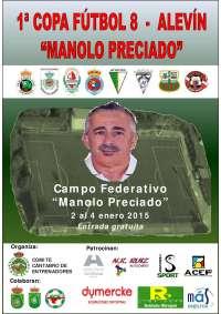 Comienza mañana la I Copa de Fútbol 8 Manolo Preciado, que se disputa hasta el día 4