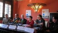 Instituciones y sociedad aragonesa piden la permanencia en Zaragoza de la Oficina de ONU para la Década del Agua