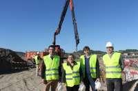 Company visita las obras de remodelación integral de la depuradora de Sant Joan que se prevé que terminen en mayo