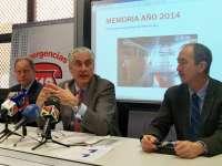 El Centro de Emergencias 112 SOS Aragón atiende 66.280 incidentes en 2014