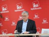 Llamazares y Orviz se enfrentarán en las primarias de IU Asturias