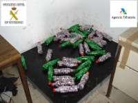 Detenidos en Melilla seis individuos en posesión de 125 kilogramos de hachís
