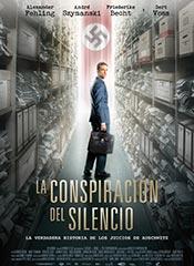 La conspiración del silencio - Cartel
