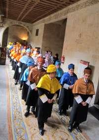 Las dos universidades salmantinas celebrarán hoy por separado la festividad de Santo Tomás de Aquino