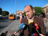 López (PSOE) asegura que no ejecutará la línea del tranvía hacia el barrio de El Carmen porque es