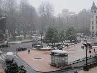 La cota de nieve rozará el nivel del mar el domingo en Asturias