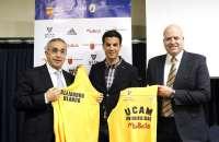 Miguel Ángel López dice que su unión con UCAM Murcia es para