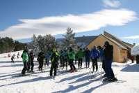 Más de 60 técnicos de esquí de España, Andorra y Francia visitan  Valdelinares