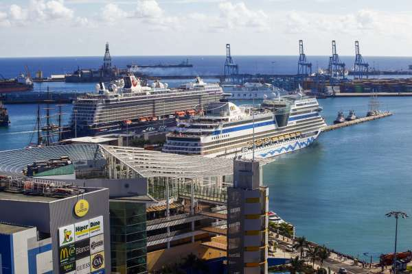 Más de 20.000 cruceristas pasarán por Las Palmas de Gran Canaria en el primer fin de semana del Carnaval
