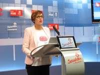 Chivite dice que el PSOE