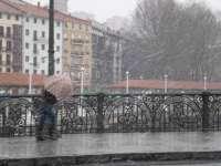 Precipitaciones de 131,6 litros/m2 en Urkiola, 131,6 litros/m2 en Zegama y 121,9 litros/m2 en Añarbe