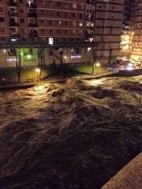 Los bomberos de Bizkaia realizan más de 80 salidas por el temporal de lluvia