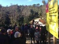 Inauguran la restauración del Pont Gran de la Font Picant de Madremanya (Girona)