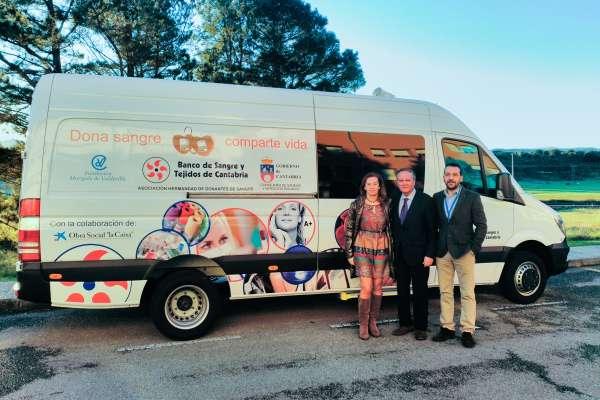 El Banco de Sangre de Cantabria cuenta con una nueva unidad móvil