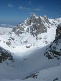 El SEPA advierte del riesgo de aludes en Picos de Europa
