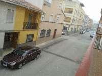 Comienza a nevar en Cehegín, Caravaca y Bullas y Meteorología activa la alerta amarilla por nevadas