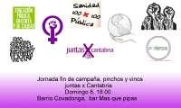 La lista 'Juntas X Cantabria', que aspira a liderar Podemos, presenta mañana su proyecto en el acto de cierre de campaña