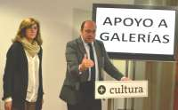 Cultura crea una nueva línea de apoyo a las galerías de arte de la Región para promocionar a artistas murcianos