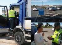 La Guardia Civil denuncia a un camionero que conducía bajo los efectos de las drogas