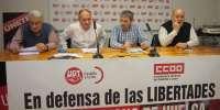 CCOO y UGT secundan mañana una convocatoria de movilización ante las subdelegaciones en defensa del derecho a la huelga