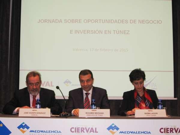 Cierval destaca las oportunidades de inversión y negocio que ofrece Túnez a las empresas valencianas