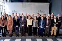 Susana Díaz se reúne en San Telmo con la Comisión Permanente del Consejo de Comunidades Andaluzas