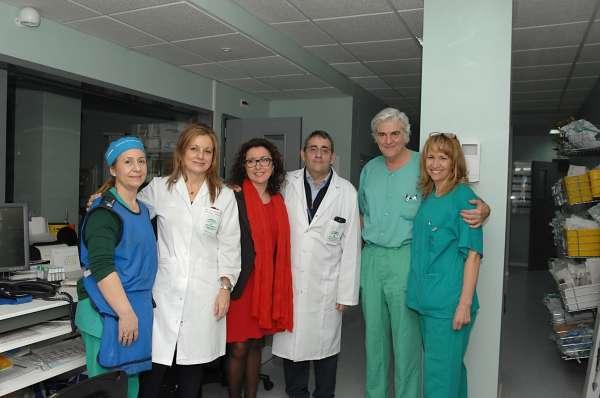 El Hospital Reina Sofía cuenta con una nueva sala de hemodinámica para la realización de cateterismos