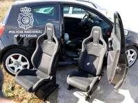 Tres detenidos en Burgos por simular el robo de dos asientos de automóvil valorados en 8.000 euros