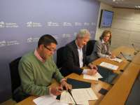 Renovado el convenio con la Coordinadora de ONG para informar y sensibilizar a los riojanos en cooperación al desarrollo