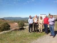 Junta visita la zona de las antiguas balsas de lodos mineros clausuradas en El Centenillo
