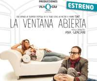 La autora Ana Graciani estrena este viernes la comedia de suspense 'La ventana abierta' en Sala Cero