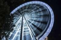 La noria de 70 metros y panorámica de 360 grados abre sus puertas en la Marina