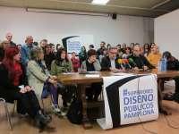 La comunidad educativa de la Escuela de Arte de Pamplona pide la implantación de los estudios superiores de Diseño