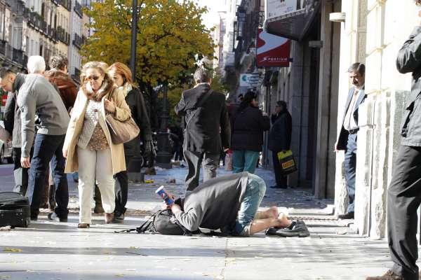 El SEMAS ofrece ayuda a tres personas sin hogar durante esta semana